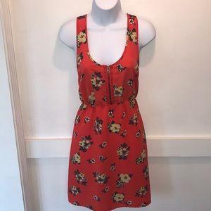 Floral Razor Back Dress